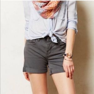 Anthropologie Pilcro & the Letterpress Jean Shorts